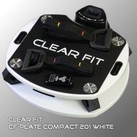 Виброплатформа CLEAR FIT PLATE 201 WHITE